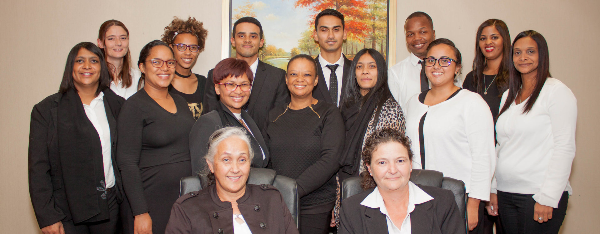 Support Staff at Kim Armfield and Associates in Cape Town